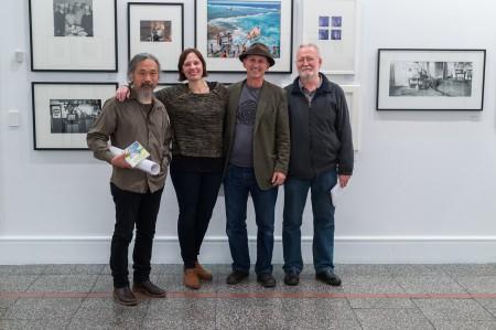 Haru Sameshima, Nina Seja, Geoff Short and John B. Turner at the