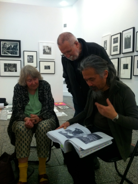 Photographer Ans Westra, PhotoForum founder John B. Turner, and publisher Haru Sameshima discuss the publication PhotoForum at 40 by Nina Seja, which will be launched at the gallery on 28 June.