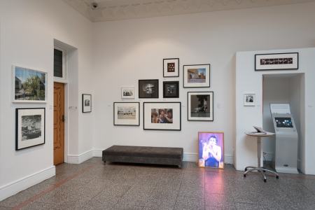History in the Taking - Installation view in Foyer