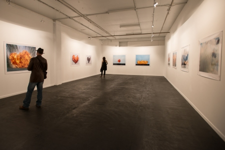 Installation view of Towards Another Theory at Colour Factory Ga
