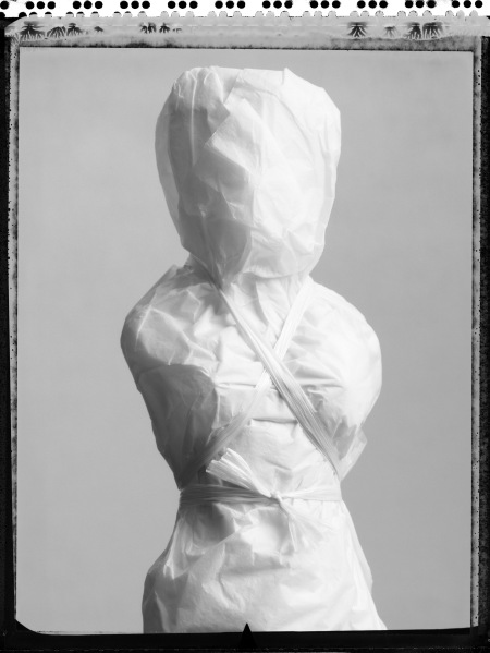 Untitled Effigy Number Three, 2004 (Wrapped Figure).